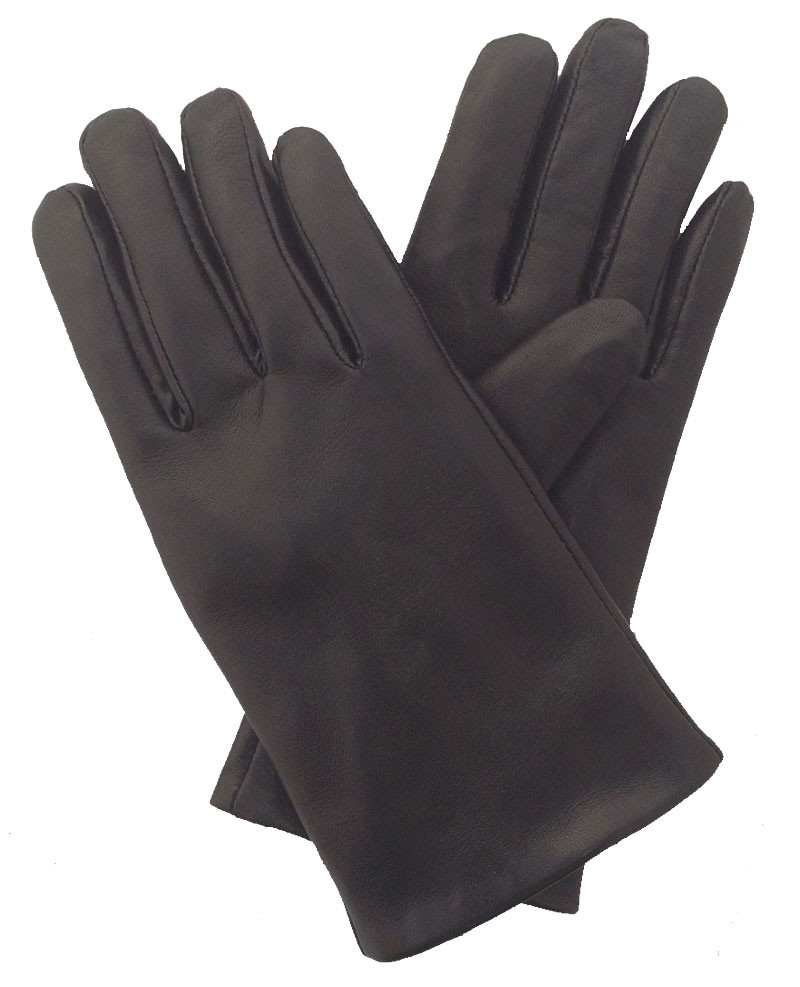 Pittards ladies leather gloves - Ladies Pittards Leather Cashmere Lined Glove Black