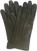 Ladies Warm Lined Soft Leather Gloves Bl