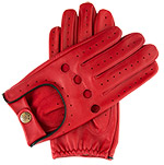 Dents Delta Mens Leather driving glove B