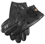 Dents Mens Touchscreen Driving Glove Bla