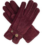 Dents Ladies Suede Walking Glove