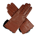 Dents Ladies Wool Lined Leather Glove wi