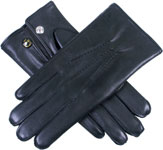 Dents Lumley Mens Rabbit Fur Lined Hands