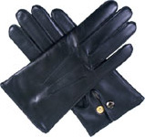 Dents Mens Wool Lined Leather Officers G