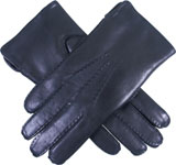 Dents Mens Hand Sewn Fur Lined Leather G