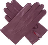 Dents Mens Leather Glove with a Wool Mix