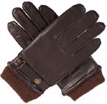 Dents Mens Hairsheep Leather Glove with