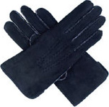 Dents Ladies Hand Sewn Lambskin Glove Bl