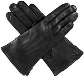Dents Ladies Warm Leather Glove Black