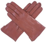 Dents Ladies Warm Leather Glove Cognac