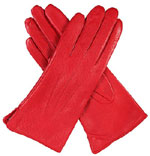 Dents Ladies Warm Leather Glove Berry
