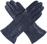 Dents Ladies Silk Lined Leather Glove wi