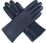 Dents Ladies Leather Back Glove with Ela