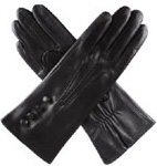 Dents Ladies Silk Lined Leather Gloves w