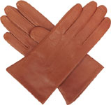Southcombe Ladies warm lined leather glo