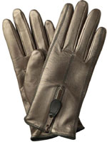 Southcombe Ladies Leather Glove with Zip