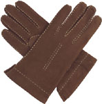 Southcombe Ladies Suede Glove with Cashm