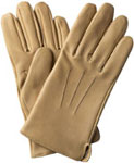 Southcombe Mens Tan Leather Glove with T
